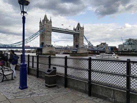 London, England, Tower Bridge, Bridge