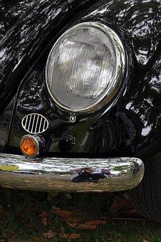 Vw, Vw Beetle, Beetle, Oldtimer, Auto