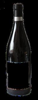 Bottle, Wine, Alcohol, Drink, Beverage, Grape, Blank