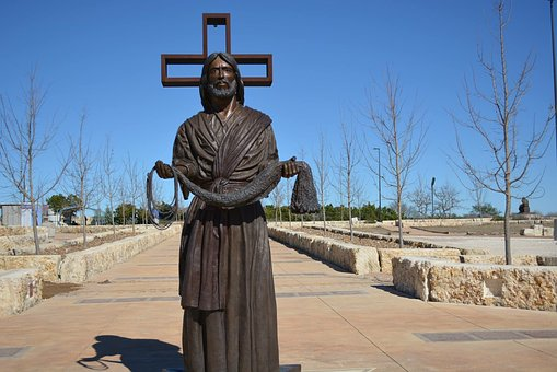 Statue, At The Cross, Kerrville Texas