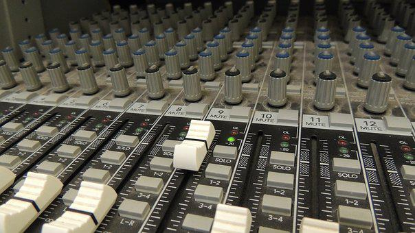 Panel, Sound, Music, Audio, Equipment, Technology