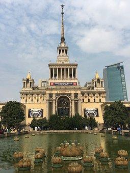 Shanghai Exhibition Center, Building, Beauty