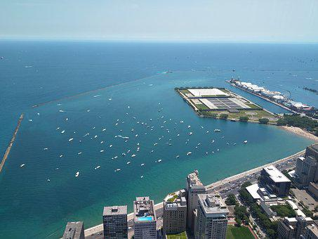 Chicago, Navy Pier, Lake, Illinois, Michigan