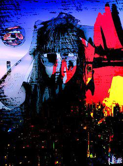 Pop Art, Hard Mix, City, Skyline, Beautiful