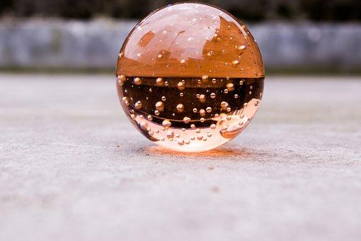 Crystalball, Still, Object, Glass, Crystal, Shape