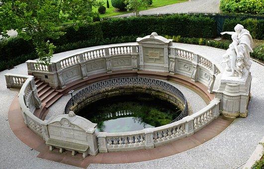 The Source Of The Danube, Donaueschingen, Danube, River