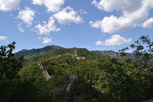 Great Wall, China, Asia, East, Landmark, Beijing