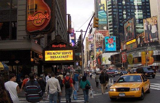 New York, Manhattan, Hard Rock Cafe