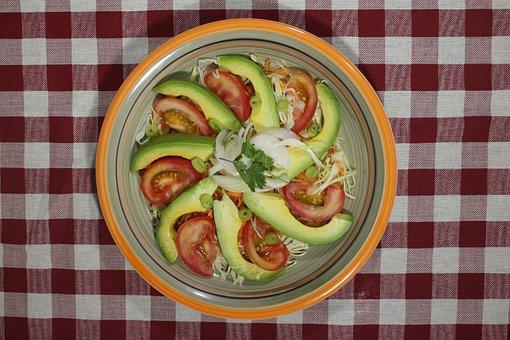 Salad, Food, Dish, Restaurant, Vegetarian, Healthy Food