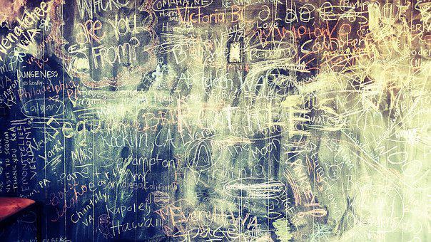 Grunge, Chalkboard, Chalk, Texture, Blackboard, Text