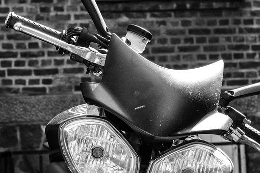 Motorcycle, Motorbike, Staring Wheel, Bike, Transport