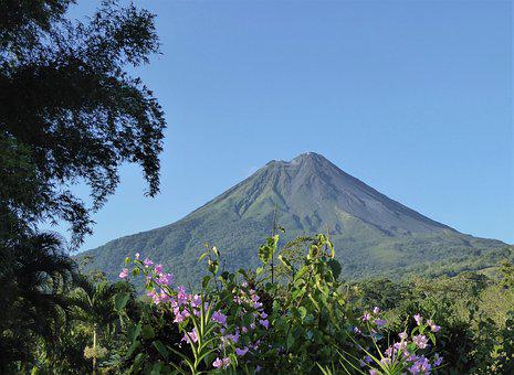 Central America, Costa Rica, Volcano, Arenal, Nature