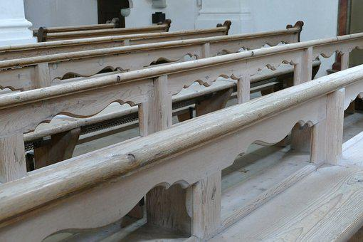 Wooden Benches, Stalls, Pew