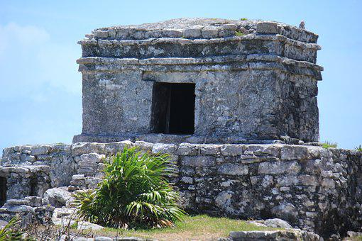 Tulum, Cancun, Ruins, Maya, Mexico, Caribbean