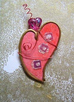 Craft, Card, Paper, Heart, Art, Love