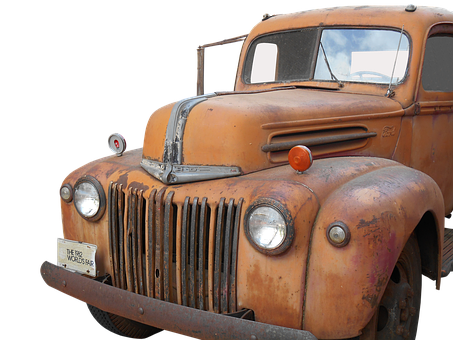 Truck, Ford, Oldtimer, Historically, Vintage Car Mobile