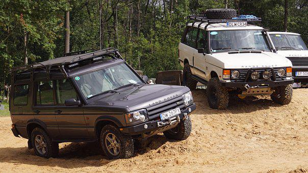 Land Rover, Range Rover, Old, Field, Historic, Old Car