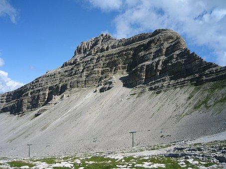 Campiglio, Mountain, Landscape, Summer, Cable Car
