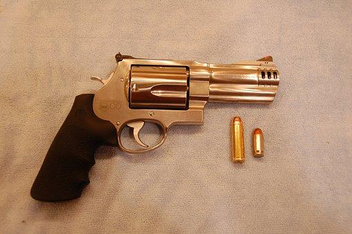 Revolver, Pistol, Handgun