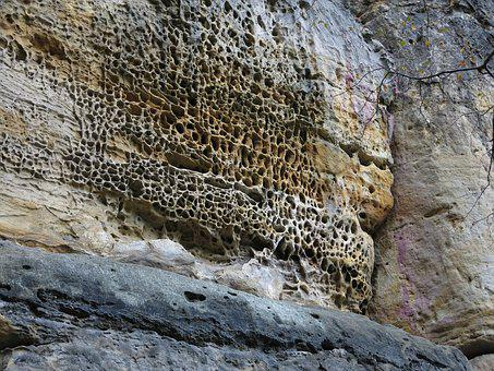 Honeycomb Erosion, Saxon Switzerland