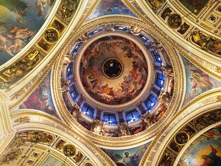 St Petersburg, Church, Painting
