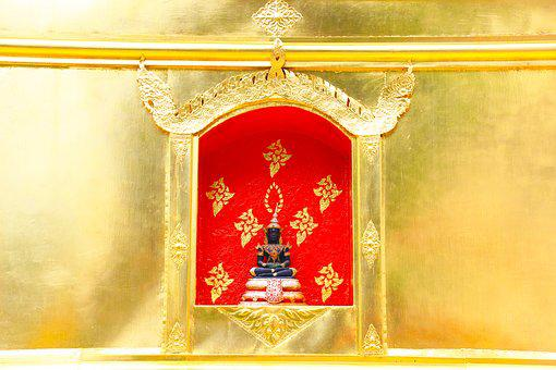 Thailand, Chiang Rai, Golden, Pagoda, Buddhism, Faith