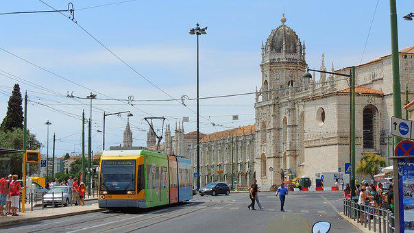Lisboa, Tram, Portugal, City, Lisbon, Europe, Street