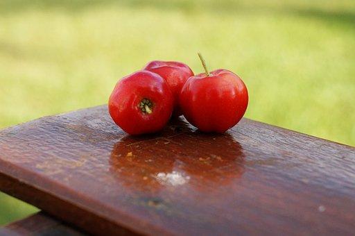 Acerola, Fruit, Vitamin