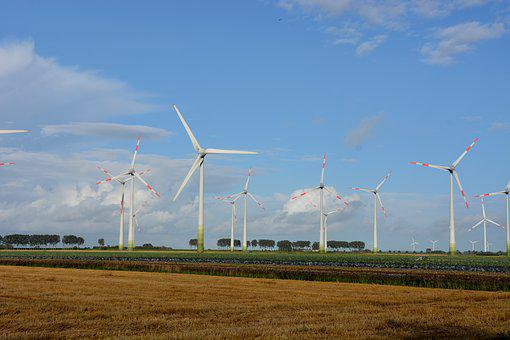 Technology, Pinwheel, Sky, Wind Power, Wind Energy