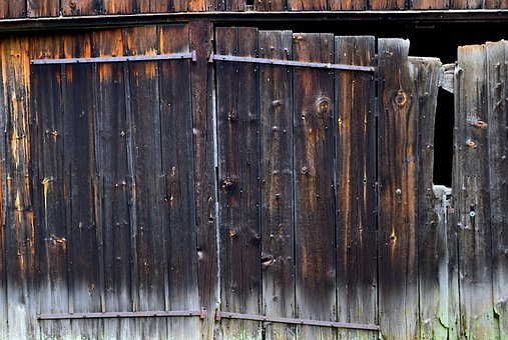 Wooden, Barn, Doors, Rustic, Vintage, Wood, Wall, Old