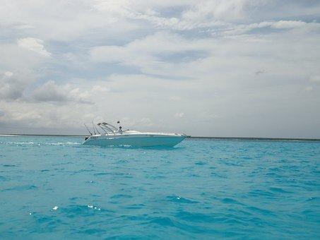 Yacht, Isla La Tortuga, Holiday, Sea, Caribbean Sea