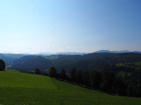 Nature, Landscape, Hill Land, Foothills Of The, Austria