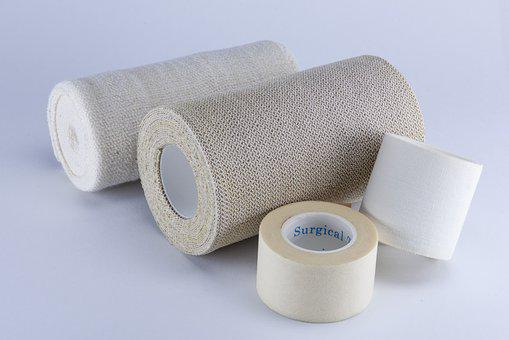 Bandage, Gauze, Treatment, Medical, Band-aid
