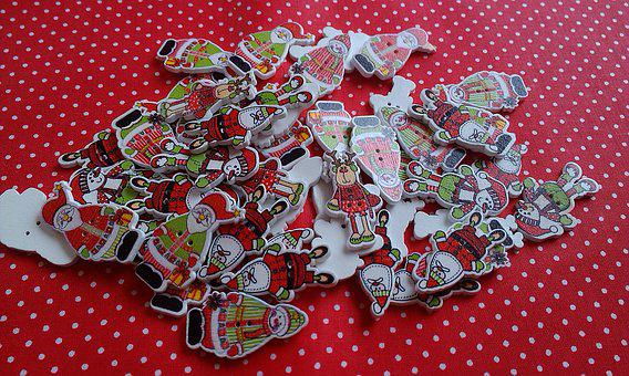 Buttons, Holidays, Carol, Christmas, Christmas Tree