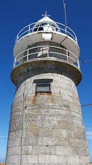 Lighthouse, Spain, Cies, Nature, Sky, Sea, Coast
