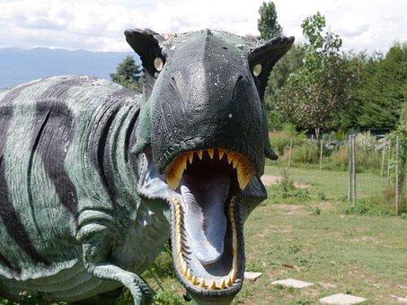Dinosaur, Tiranosaure, Monster, Fear, Teeth, Hangover