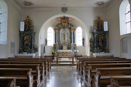 Chapel, Aggenhausen, Grinding Stetten, Germany, South