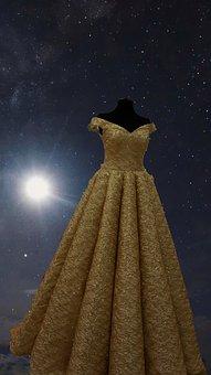 Dress, Wedding, Wedding Dress, White, Woman, Gown