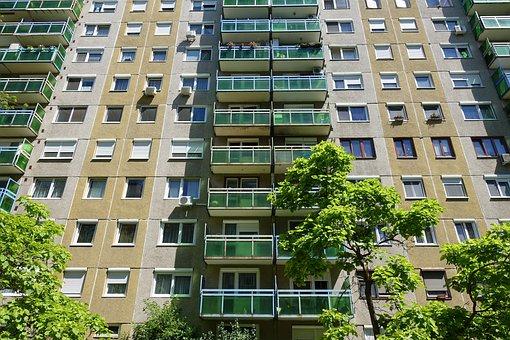 Hungary, újpest, Budapest, Housing Estate, Architecture