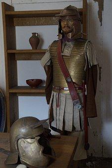 Lime Museum, Aalen, Roman Soldier, Legionnaire, Romans