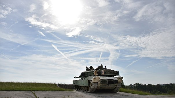 Tank, Vehicle, Training, Germany, Army, War, Military
