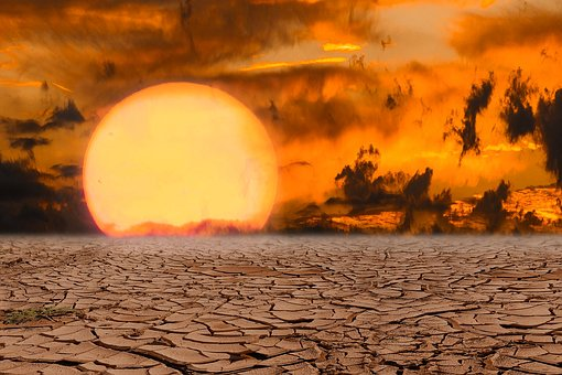 Nature, Emotions, Sun, Desert, Clouds, Climate Change
