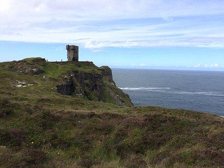 Ireland, Emerald Isle, Nature, Celtic, Ocean, Sky