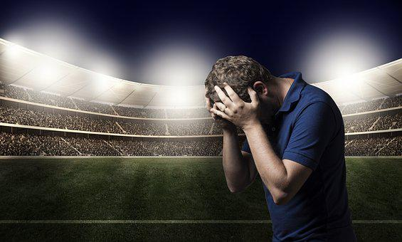 Sadness, Defeat, Loss, Football, Sport