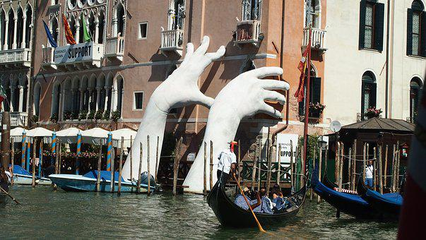 Venice, Places Of Interest, Italy, Water, Building