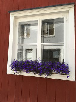 Finland, Window, Old, Architecture, Building