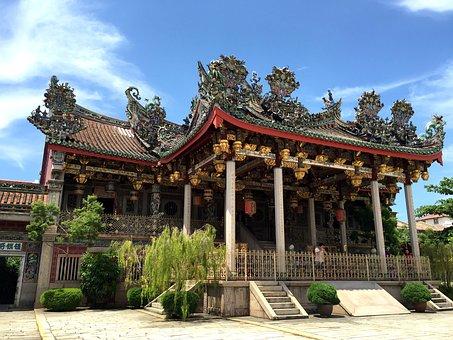 Khoo Kongsi, Chinese Clan House, Penang, Architecture