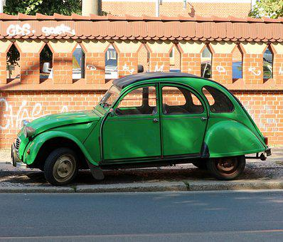 Duck, Auto, Oldtimer, Citroen, Classic, Old, Vehicle