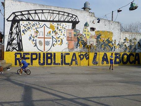 La Boca, Argentina, Buenos Aires, Urban, Football
