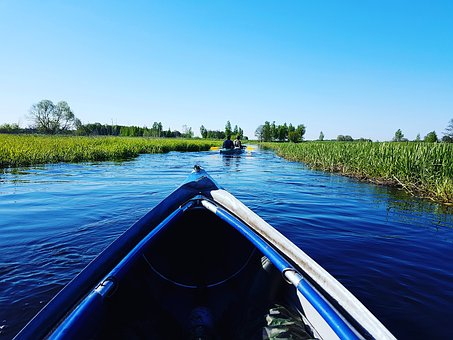 Adventure, Water, Boat, Canoeing, Call, Current